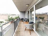 terasa - pronájem apartmánu Liberec