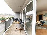 terasa - apartmán k pronajmutí Liberec