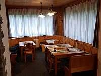 Jídelna ve společenské místnosti - Tanvald