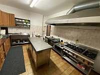 Plně vybavená kuchyňka - chalupa k pronajmutí Tanvald
