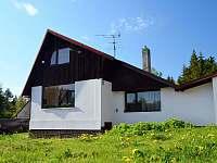 Chata ubytování v obci Bořkov