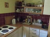 Kuchyňka - chalupa ubytování Fojtka - Mníšek