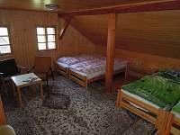 Ložnice 2 - pronájem chalupy Fojtka - Mníšek