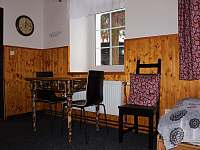 1. pokoj - 4 lůžkový - pronájem chaty Desná