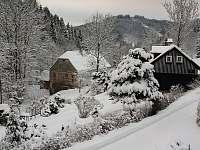 Roubenka Javorka dovolená na horách - chata ubytování Desná