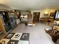 Společenská místnost s kuchyní - Polubný