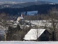 Výhled ze zahrady - Nová Ves nad Nisou