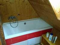 Koupelna - chalupa k pronajmutí Albrechtice v Jizerských horách