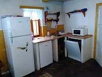 Kuchyňka - chalupa k pronajmutí Albrechtice v Jizerských horách