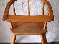 Jídelní židlička - Bílý Potok