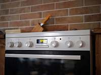 Vybavení kuchyně - chalupa k pronájmu Bílý Potok