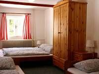čtyřlůžkový pokoj - Malá roubenka - Horní Maxov