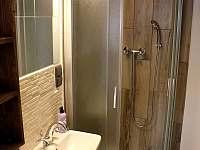 Nový apartmán koupelna - Horní Maxov