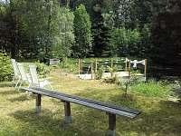 romantické místo pro klidné posezení a relaxaci - chata k pronajmutí Desná II