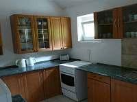Vybavená společná kuchyň - chata k pronájmu Desná II