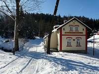 zimní idyla - chata k pronájmu Desná II