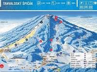 Ski areál Špičák - apartmán k pronájmu Albrechtice