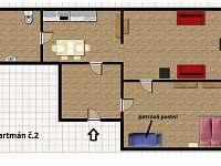 Bedřichov - apartmán k pronájmu - 12