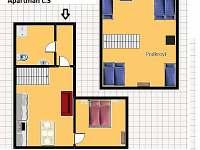 Bedřichov - apartmán k pronájmu - 7
