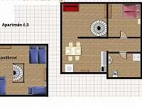 Bedřichov - apartmán k pronájmu - 15