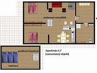 Bedřichov - apartmán k pronájmu - 23