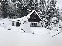 Chata U Špidlenů v zimě
