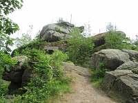 Vyhlídka Finkenstein naproti chatě