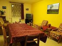 Společenská místnost - ubytování Tanvald