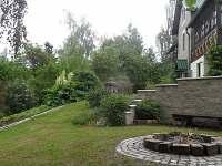 Zahrada-ohniště s grilem - Držkov