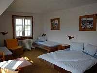 Čtyřlůžkový pokoj - apartmán ubytování Albrechtice v Jizerských horách