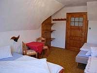 Pokoj třílůžkový - apartmán k pronajmutí Albrechtice v Jizerských horách