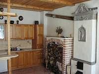 kuchyň - chalupa k pronájmu Dolní Maxov