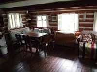 Sednice - jídelní kout - chalupa ubytování Nová Ves nad Nisou