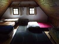 Velká ložnice - chalupa k pronájmu Nová Ves nad Nisou