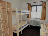 3lůžkový pokoj - 1 patro
