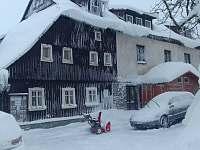Zima - chata ubytování Kořenov - Příchovice