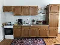 Kuchyň - chalupa ubytování Bílý Potok