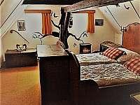 Ložnice - pronájem chalupy Horní Maxov