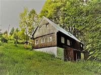 Spodní pohled - pronájem chalupy Horní Maxov