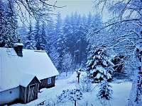 Zima - chalupa k pronajmutí Horní Maxov