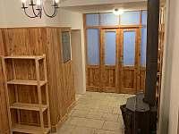 vstupní hala 02 - chata ubytování Albrechtice v Jizerských horách