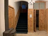 vstupní hala - chata k pronajmutí Albrechtice v Jizerských horách
