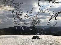 Zima Tanvaldský Špičák - Albrechtice v Jizerských horách