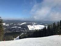 Zima Tanvaldský Špičák sjezdovky - Albrechtice v Jizerských horách