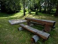 Apartmány Bedřichovka - zahrada