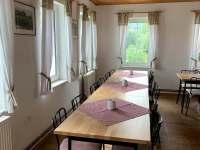 společenská místnost - pronájem chaty Josefův Důl