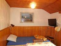 Lůžko v obývací kuchyni - apartmán k pronájmu Zlatá Olešnice