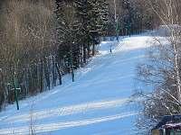 lyžařský vlek - apartmán ubytování Zlatá Olešnice