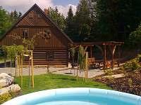 Příchovická Roubenka - pohled od bazénu