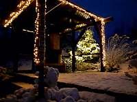 vánoční osvětlení - chalupa k pronájmu Kořenov